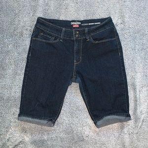 Levi's Denizen Modern Skinny Denim Shorts size 10